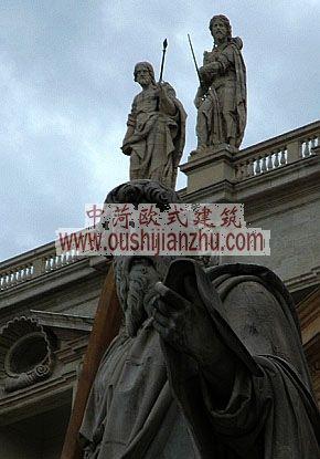 圣彼得教堂的雕塑