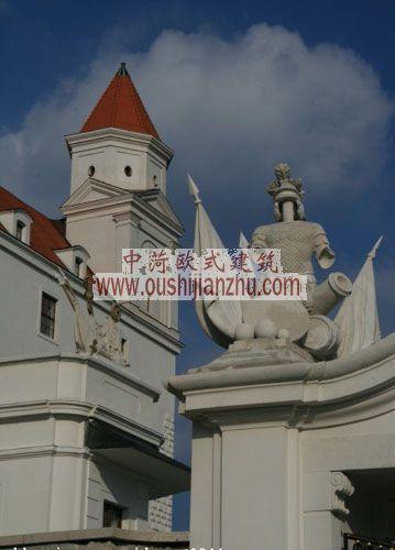 斯洛伐克布拉迪斯拉法城堡雕塑