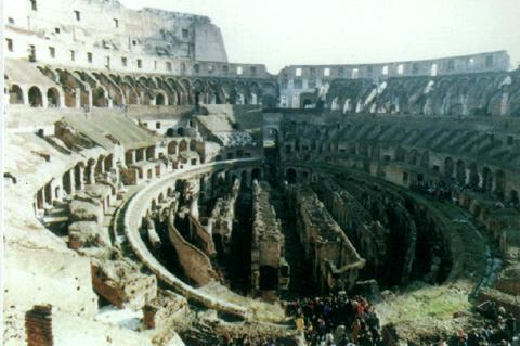 古代罗马建筑-斗兽场
