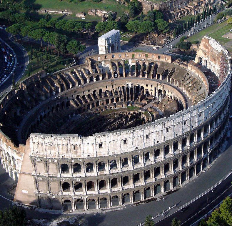 古代罗马建筑-斗兽场2