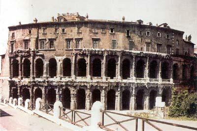 古代罗马建筑-马采鲁斯剧场