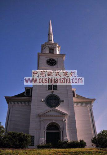 哈德逊镇的教堂