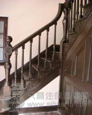 历史保护建筑修缮-楼梯1