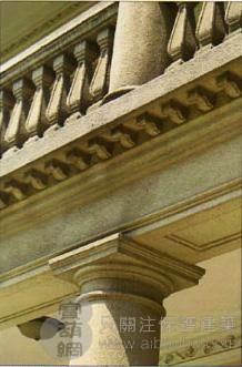 历史保护建筑修缮-柱式1