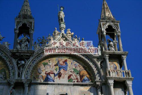 意大利威尼斯圣马可大教堂