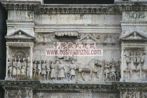 意大利拿玻里新城浮雕
