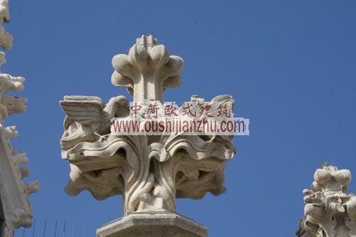 意大利米兰大教堂雕塑