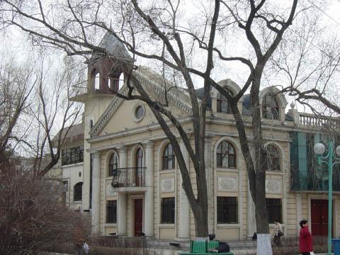 哈尔滨的欧式建筑风格:浪漫主义18