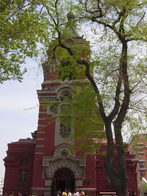 哈尔滨的欧式建筑风格:教堂建筑10