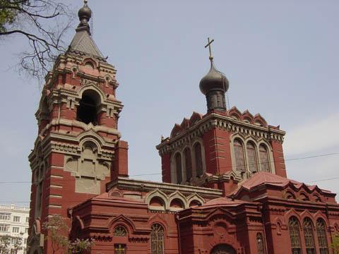 哈尔滨的欧式建筑风格:教堂建筑9