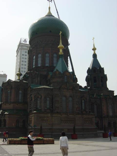 哈尔滨的欧式建筑风格:教堂建筑3