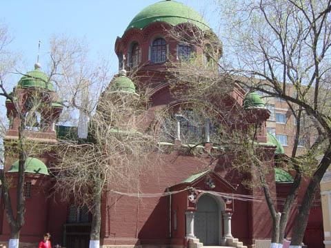 哈尔滨的欧式建筑风格:教堂建筑6