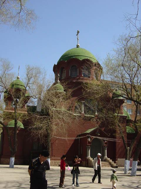 哈尔滨的欧式建筑风格:教堂建筑5