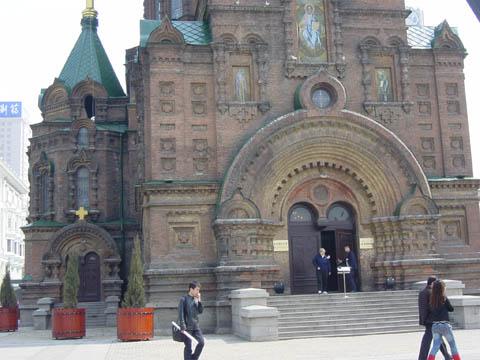 哈尔滨的欧式建筑风格:教堂建筑2