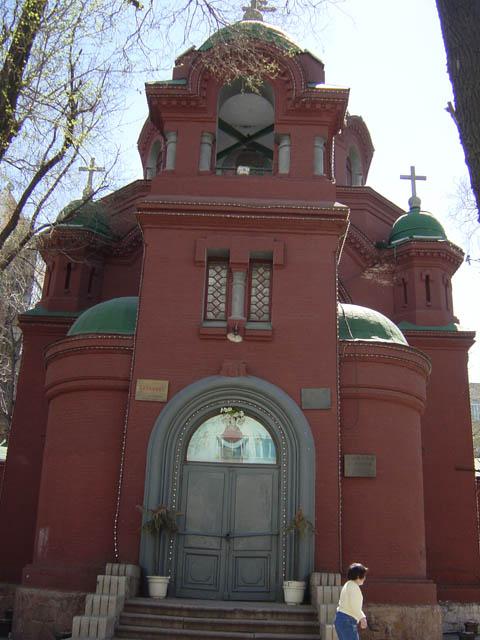 哈尔滨的欧式建筑风格:教堂建筑7