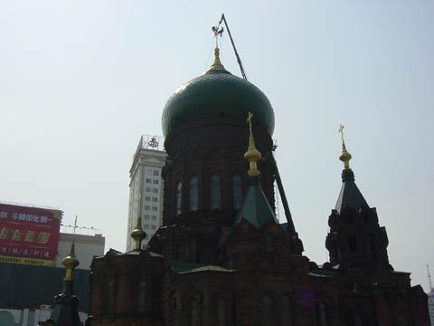 哈尔滨的欧式建筑风格:教堂建筑4