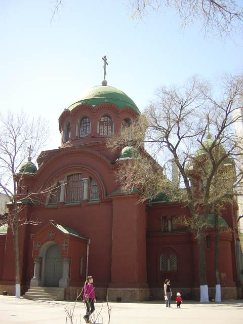 哈尔滨的欧式建筑风格:教堂建筑8