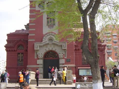 哈尔滨的欧式建筑风格:教堂建筑11