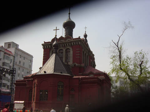 哈尔滨的欧式建筑风格:教堂建筑13