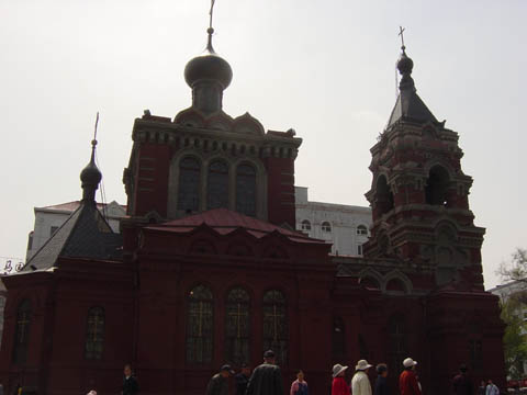 哈尔滨的欧式建筑风格:教堂建筑12