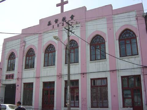 哈尔滨的欧式建筑风格:教堂建筑24