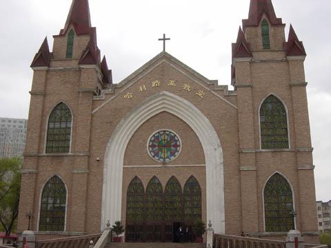 哈尔滨的欧式建筑风格:教堂建筑23