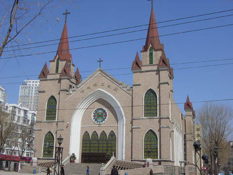 哈尔滨的欧式建筑风格:教堂建筑20