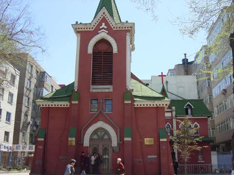 哈尔滨的欧式建筑风格:教堂建筑26