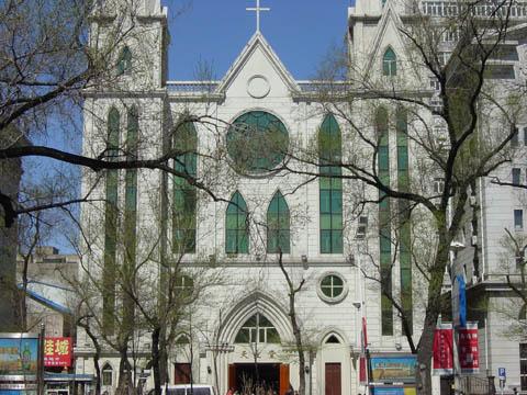 哈尔滨的欧式建筑风格:教堂建筑31