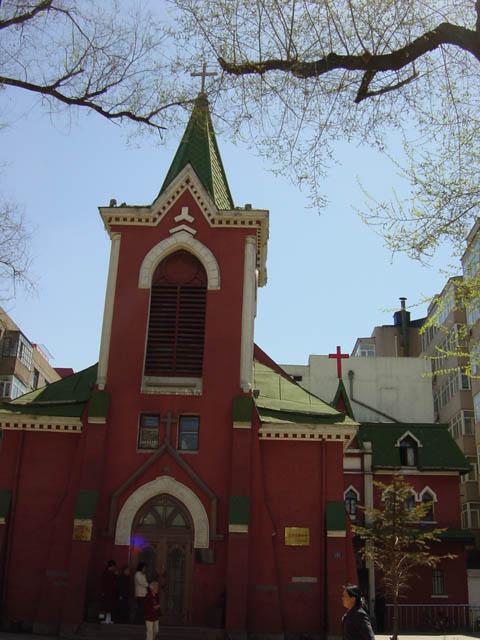 哈尔滨的欧式建筑风格:教堂建筑25