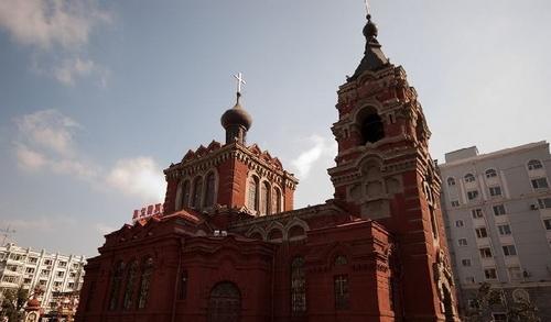 哈尔滨的欧式建筑风格:教堂建筑40