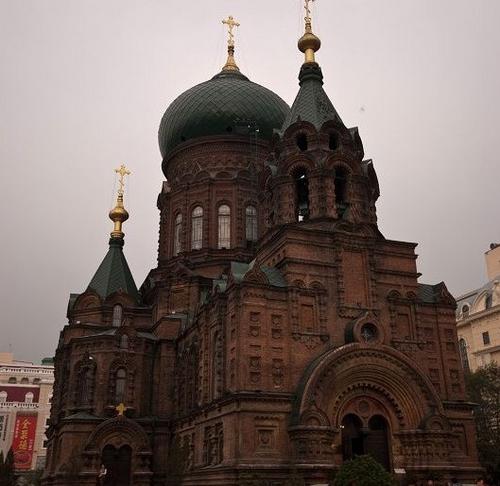 哈尔滨的欧式建筑风格:教堂建筑43