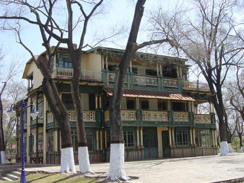 哈尔滨的欧式建筑风格:别墅建筑18
