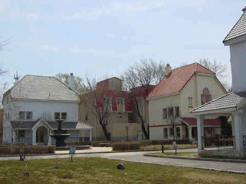 哈尔滨的欧式建筑风格:别墅建筑16