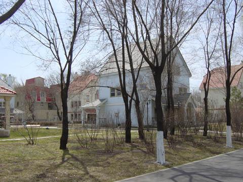 哈尔滨的欧式建筑风格:别墅建筑13