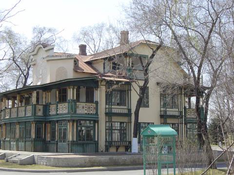 哈尔滨的欧式建筑风格:别墅建筑19