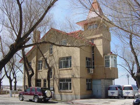 哈尔滨的欧式建筑风格:别墅建筑22