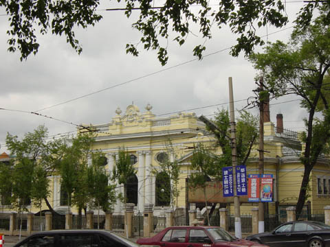 哈尔滨的欧式建筑风格:别墅建筑27