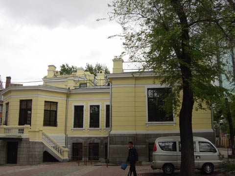 哈尔滨的欧式建筑风格:别墅建筑30