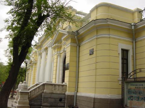 哈尔滨的欧式建筑风格:别墅建筑29