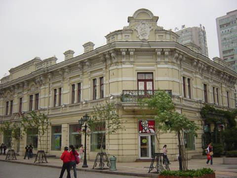 哈尔滨的欧式建筑风格:保护建筑21