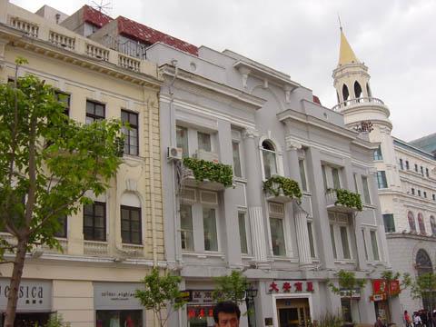 哈尔滨的欧式建筑风格:保护建筑45
