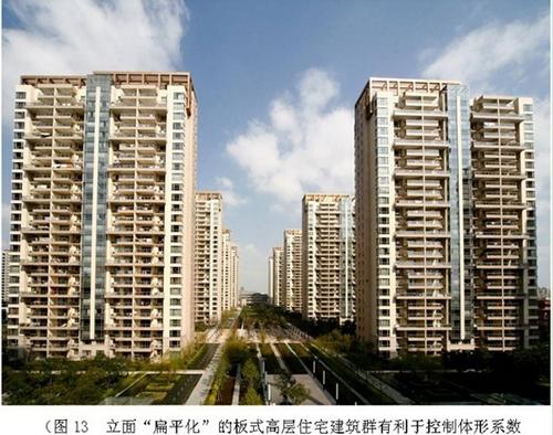 """立面""""扁平化""""的板式高层住宅建筑"""