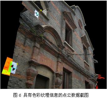 吴氏民居具有色彩纹理信息的点云数据截图
