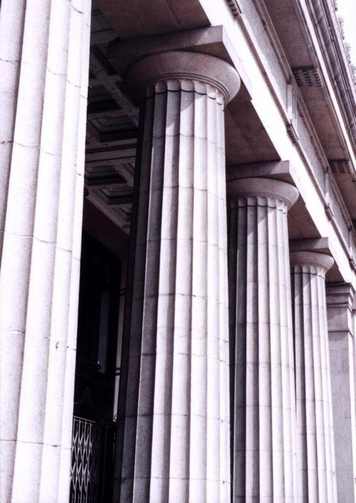 古希腊建筑中的柱式发展