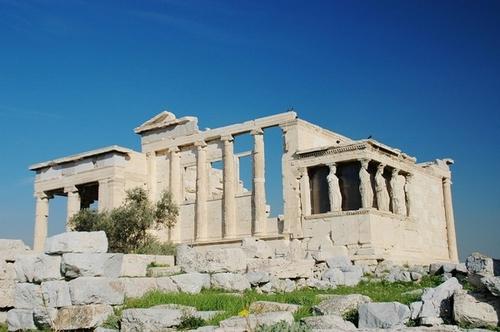 希腊雅典的古建筑:卫城和神殿