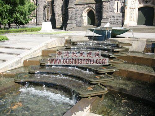 圣帕特里克教堂喷泉
