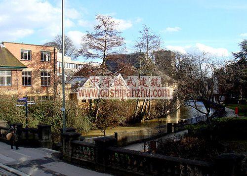 牛津镇街景