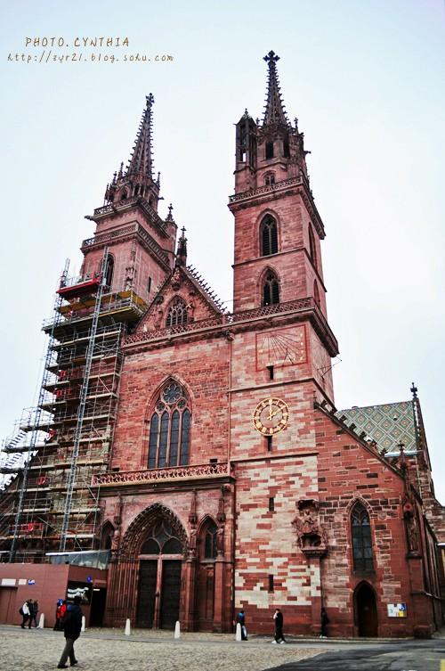 巴塞尔大教堂(Munster)是一座天主教堂
