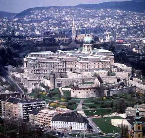 匈牙利布达城堡(Castle of Buda )